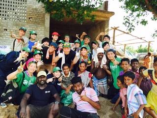 大学生が、タイの貧困地域に家を建てるお手伝いをします!