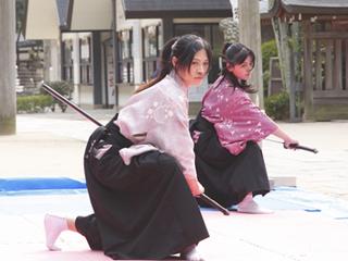 熊野高原神社に古畳を利用した居合試斬体験ができる道場を!