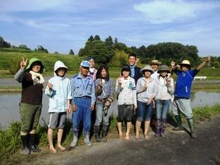 農村の自然環境を整え「笑顔が集う場」に。神戸発!全国へ!