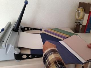 折り畳めるノート「ウイングノート」のお洒落タイプを作りたい!