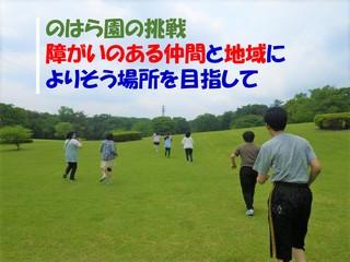 障がいのある若者が集まるのはら園に、就労と放課後支援の場を!
