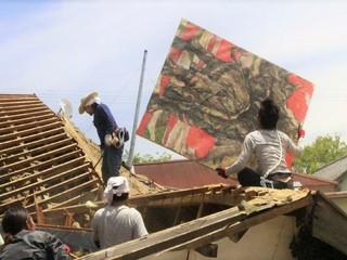 熊本地震で傷ついた田中憲一先生の絵画、御船の美術を守りたい!