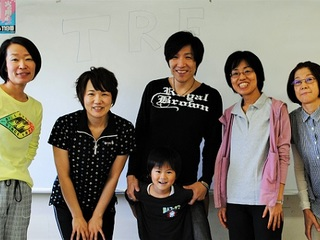 TRE体操で応援!福島から札幌に避難している親子の新しい一歩へ