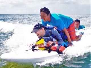 障がいを持つ方でも、自由に沖縄の海を楽しめる機会を提供したい