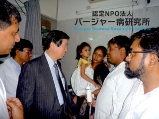 難病「バージャー病」撲滅のフォーラムをベトナムで開催したい!
