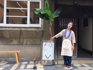 若手アーティスト作品と上質野菜でつくる衣食住一体型イベント!