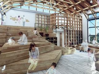沖縄の地域・福祉・木をつなげる場所に木の滑り台を設置したい!