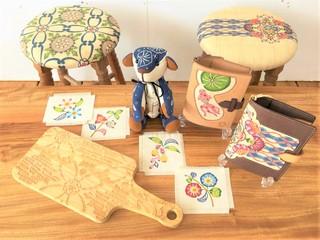 made in沖縄!世界に1つだけの『紅型×木工』作品をお届けします