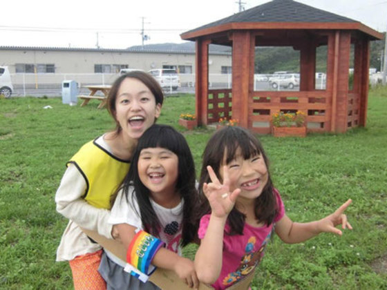 今も仮設住宅に住む石巻の子どもたちへ!遊び場を作りたい!