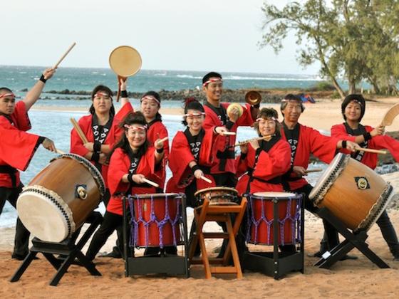 『マウイ太鼓』アロハツアー2012 東北公演&映画上映