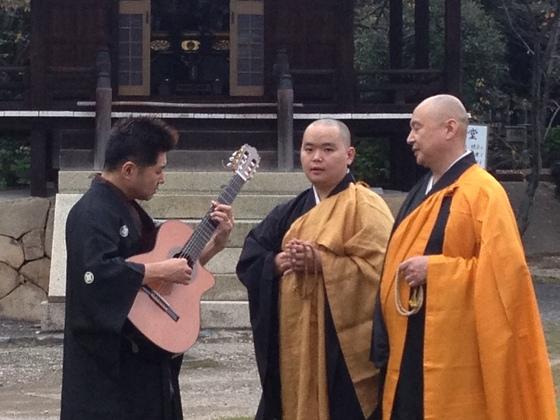京都発のジャズと仏教音楽である声明のコラボレーション公演をパリに届けたい!