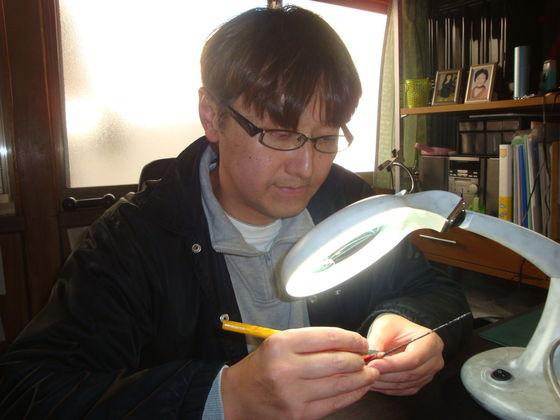 鉛筆彫刻でギネス申請を目指すプロジェクト