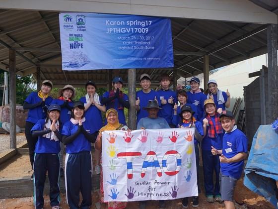 私たちができることを精一杯!大学生15人がタイで家を建てます!