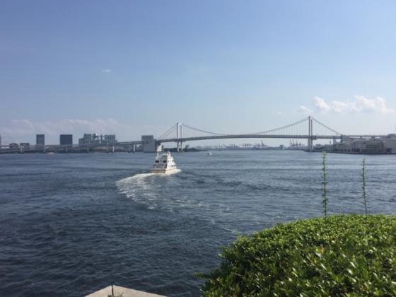 東京五輪 トライアスロン会場を定期的に潜水し水質を調査したい