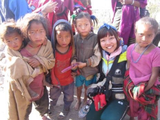 学生がネパール大地震で被災した小学校の再建設します!
