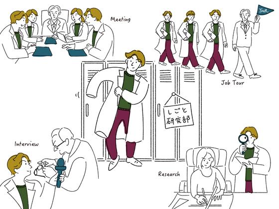自分を深く理解するための学生向けメディア「しごと研究部」を作る!