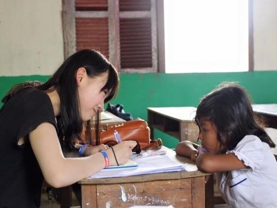 カンボジアの小学生600人にオリジナル算数ドリルを配りたい!
