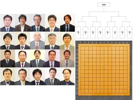 超一流棋士による囲碁13路トーナメント戦を開催したい