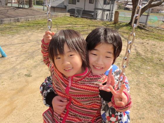 外で思いっきり遊ぼう!~福福こどもの笑顔プロジェクト14春~