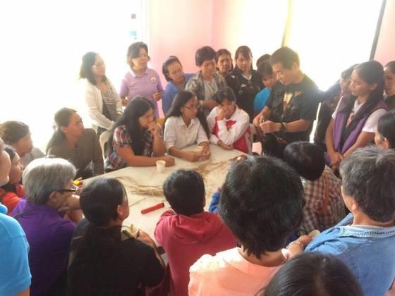 竹枝ピアス制作でフィリピン農山村の人々に長期的な生活支援を!