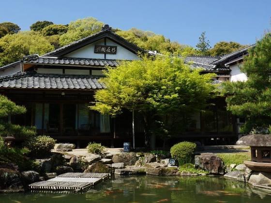 山口・湯田温泉、百年を超える国登録記念物の庭園を守り続けたい