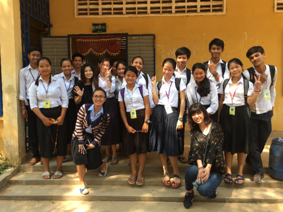 カンボジア・コンポンチャム州の学校に今年も奨学金を届けたい!