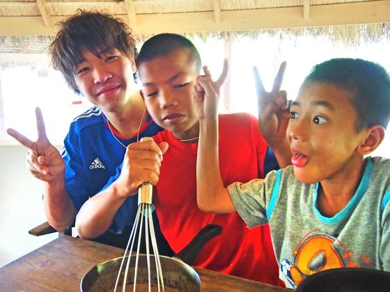 タイのエイズ孤児院が運営する宿泊施設にコミュニティスペースを