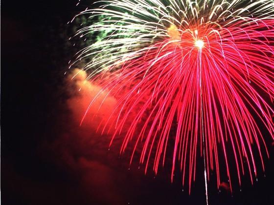 もう2度とない尺玉花火で昔の盛大な祭りを復興の勇気にしたい!