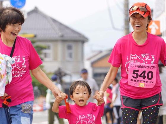 防府の史跡を巡る「幸せますマラソン」で子供たちに夢を与えたい
