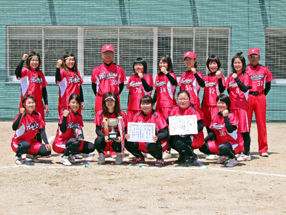 未来のソフトボール選手を育成中!羽島の女子チーム、全国大会へ