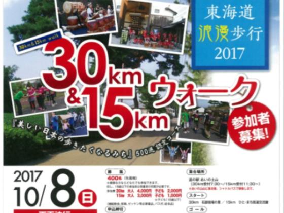 まちの魅力を再発見!歴史街道をねり歩く、東海道浪漫歩行2017