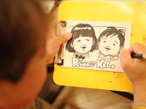 大切な人を一緒に描いた「似顔絵」を贈る被災地支援を続けたい!