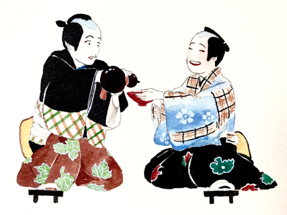 歌舞伎座 徒歩10分。芝居の余韻と日本酒に浸れるお店を開きたい