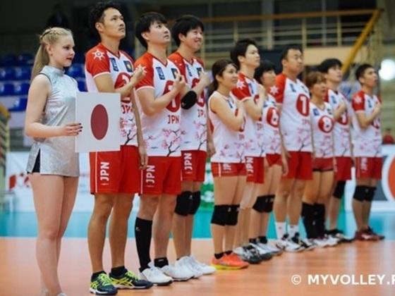 男女混合バレーボール日本代表チームを応援してください!