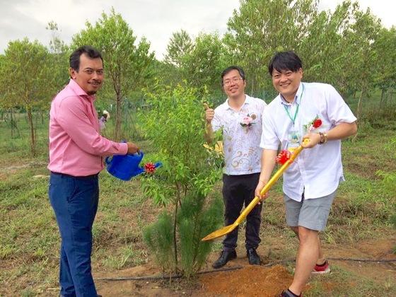 地球に緑を!マラソンを通じて日本人として植林活動に貢献したい