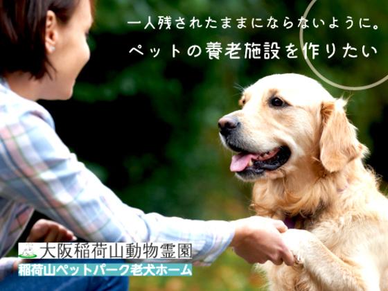 飼育できなくなったペットを受け入れる老犬ホームをつくりたい!