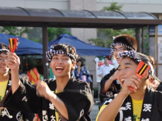 水戸黄門ゆかりの地で、世代も国境も超えて共に踊りつづけたい!