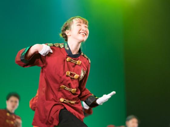 FreeDダンス公演!100人で素敵な衣装を着て舞台で踊りたい!