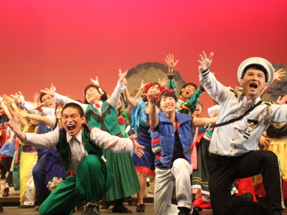 新しい復興の形、被災地の住民で作り上げるミュージカルを公演!