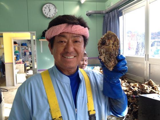 被災地石巻で奮闘する荒波牡蠣漁師・石森さんを応援したい!