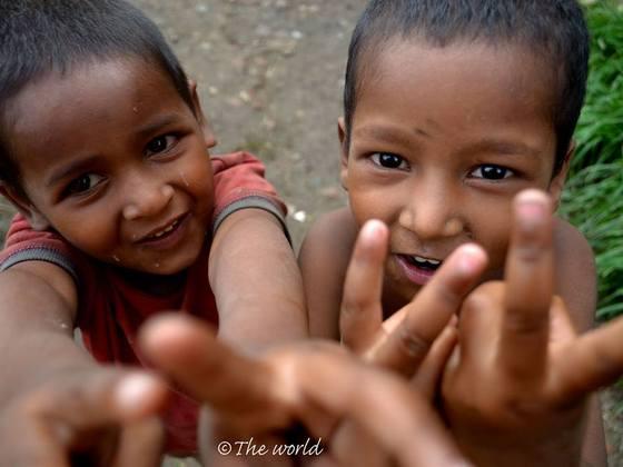 インドの子どもたちと創る写真展で、貧困に立ち向かいます