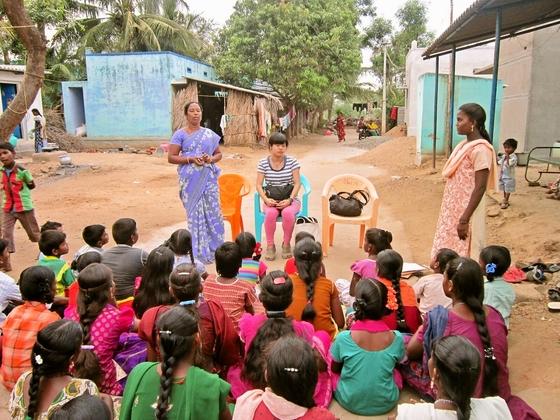 インドの貧しい村々を変えていく、未来を担う子どもを育てたい!
