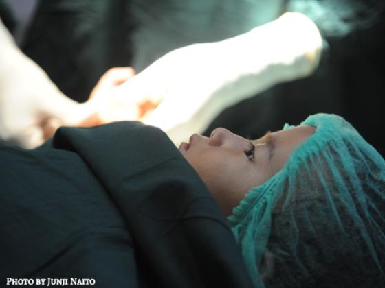 子どもたちが手術を待つミャンマーの病院に医療ライトを届けたい