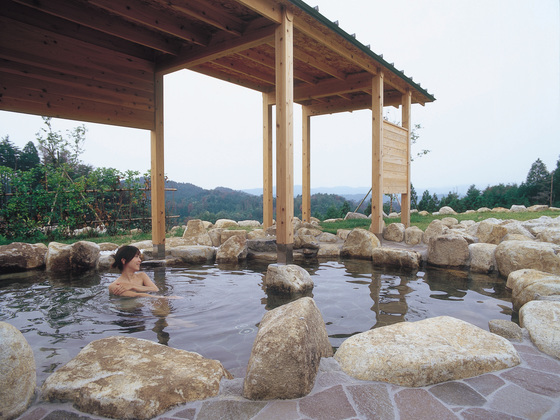 岐阜県串原の天空の露天風呂ささゆりの湯を新名物で復活させたい
