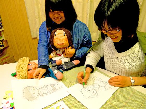 フリースクールに通う子ども達が、自作の絵本を出版したい!
