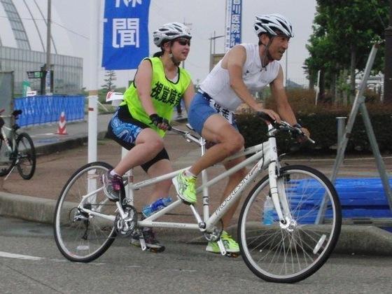 パラトライアスロン世界大会に出場するため自転車を購入したい!