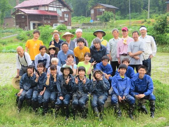 十日町市松之山。昔ながらの米作りを通して、地区の魅力を発信!