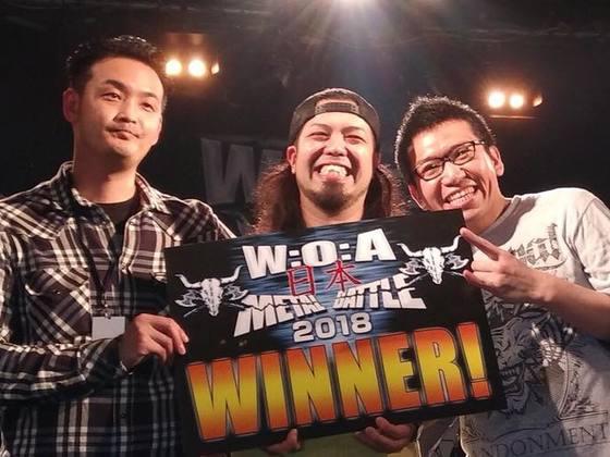 世界最高峰のメタルフェス、W:O:Aへ日本代表を送りたい!