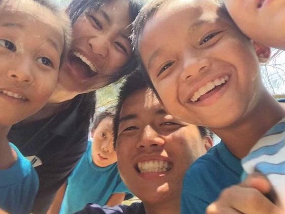 学生団体SPWがラオスの子どもたちに運動着と運動靴を届けます!