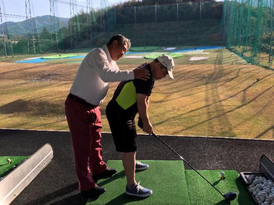38歳で全盲になった友人とゴルフの大会に出場したい!